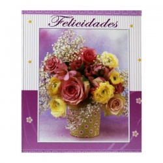 Tarjetas Libros Set Flores
