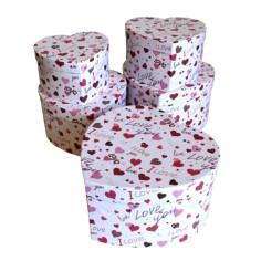 Caja Decorativa Corazon I Love You