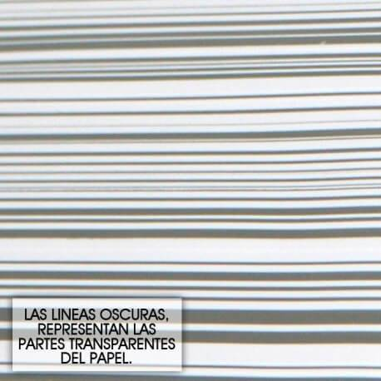 Papel de celofan transparente - Modelo RAYAS