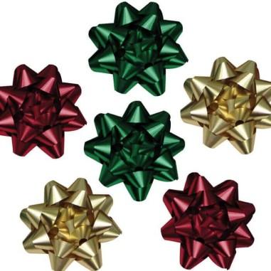 Estrellas de colores - Pack para regalo 6