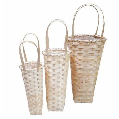 Juego de bolsas de bambú