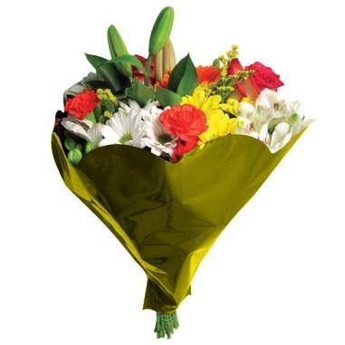 Bolsa de bouquet - Modelo METAL LISO