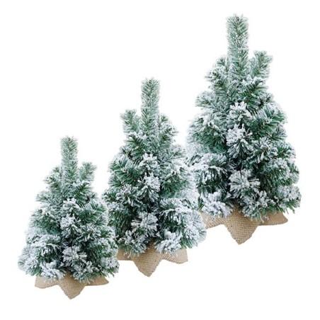 Arbol Navidad - NEVADO (3 medidas)